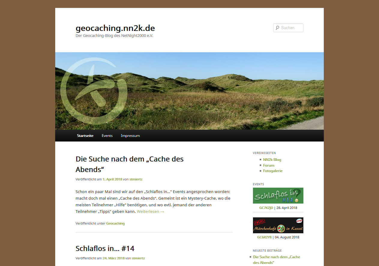 Geocaching-Blog